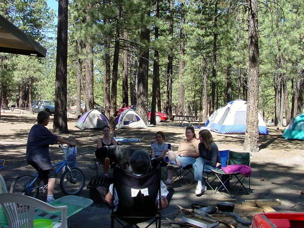 Summer Holcomb Valley Campground