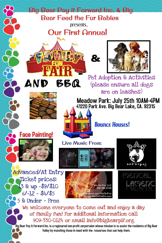 Family Fun Fair And Bbq